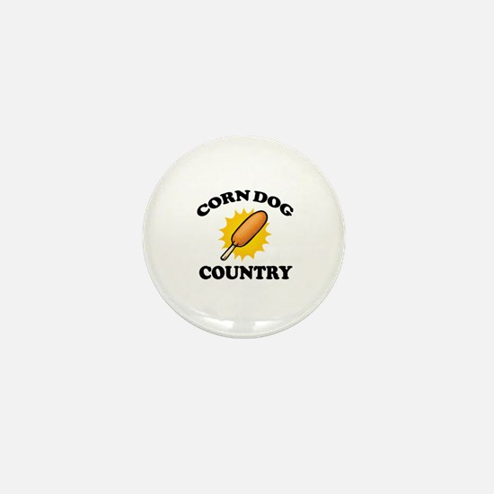 Cute Corn dog Mini Button