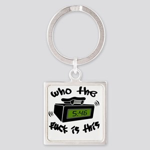 Page Me Square Keychain