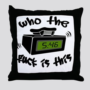 Page Me Throw Pillow