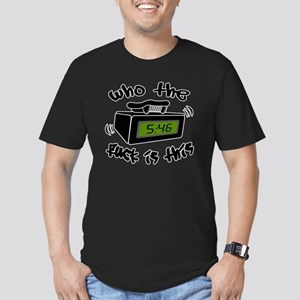 Page Me Men's Fitted T-Shirt (dark)