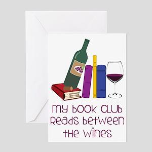 My Book Club Greeting Card