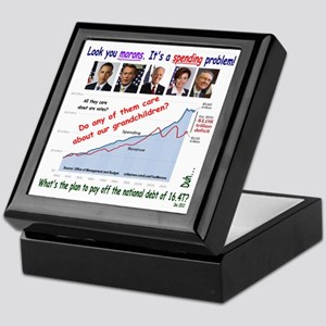 Debt2012 Keepsake Box