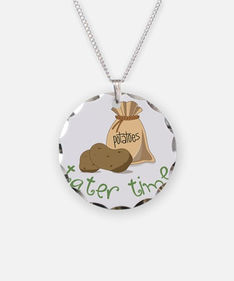 Tater Time Necklace