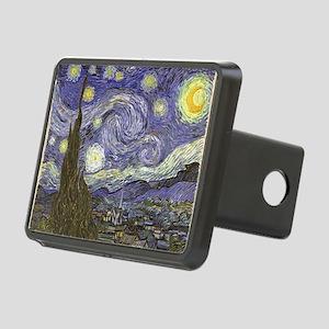 Van Gogh Starry Night Rectangular Hitch Cover