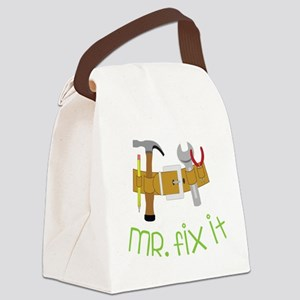 Mr. Fix It Canvas Lunch Bag