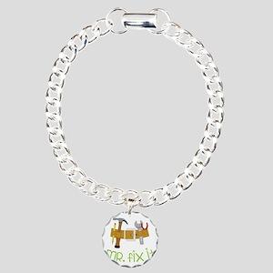 Mr. Fix It Charm Bracelet, One Charm