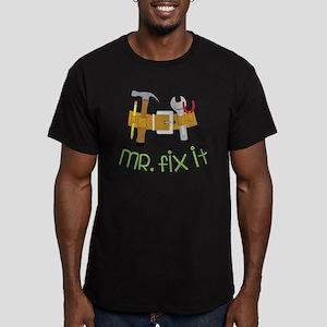 Mr. Fix It Men's Fitted T-Shirt (dark)