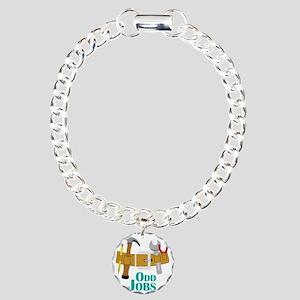 Odd Jobs Charm Bracelet, One Charm