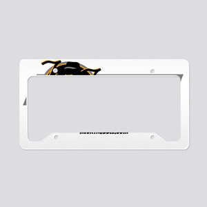 The Troubleshooter License Plate Holder