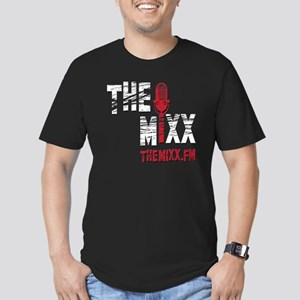 MIXX 10x10 Logo Men's Fitted T-Shirt (dark)