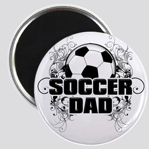 Soccer Dad (cross) copy Magnet