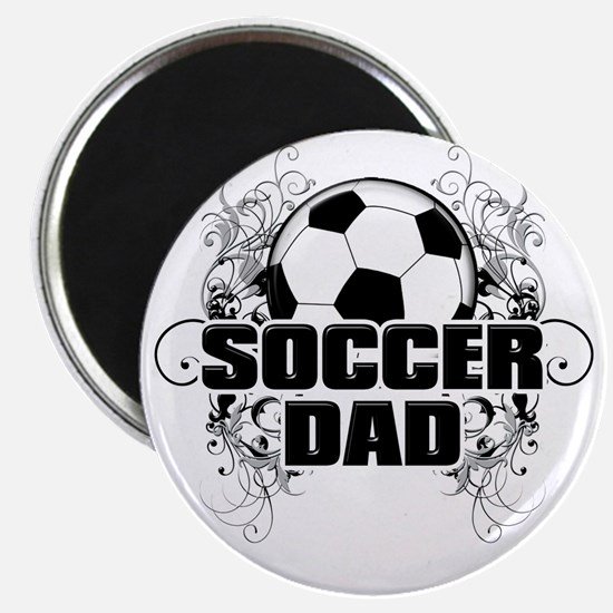 Soccer Dad (cross) copy Magnet