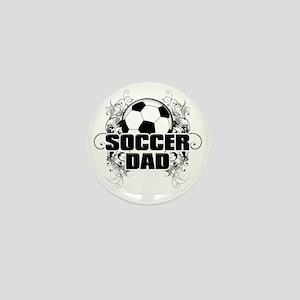 Soccer Dad (cross) copy Mini Button