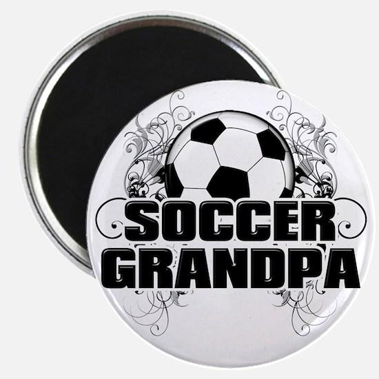 Soccer Grandpa (cross) Magnet