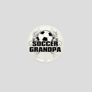 Soccer Grandpa (cross) Mini Button