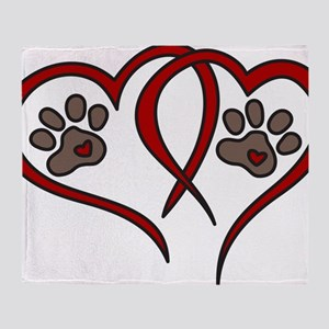 Puppy Love Throw Blanket