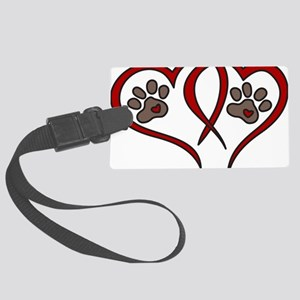Puppy Love Large Luggage Tag