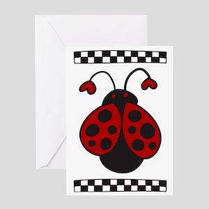 Ladybug Bug Greeting Card