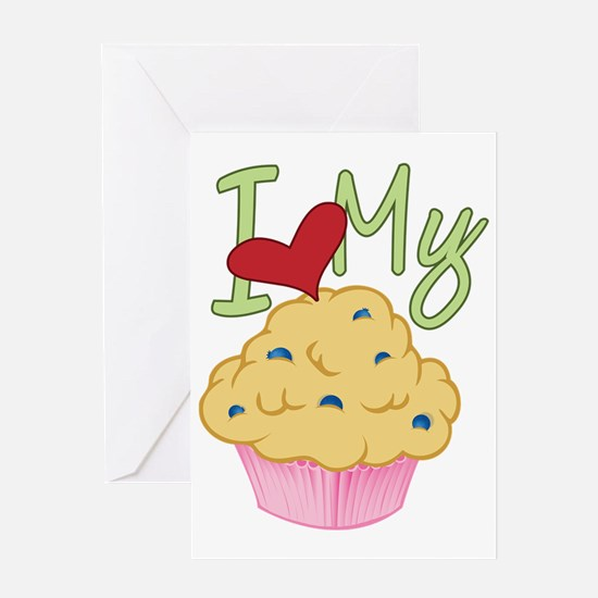 Love Muffin Greeting Card