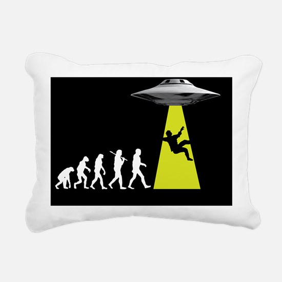 UFOvolution Rectangular Canvas Pillow