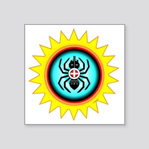 "SOUTHEAST INDIAN WATER SPID Square Sticker 3"" x 3"""