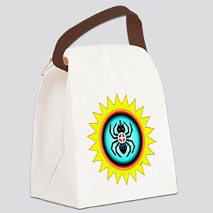 SOUTHEAST INDIAN WATER SPIDER Canvas Lunch Bag