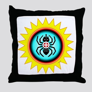 SOUTHEAST INDIAN WATER SPIDER Throw Pillow