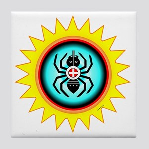 SOUTHEAST INDIAN WATER SPIDER Tile Coaster