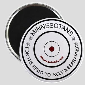 MNRKBA Logo B/W Magnet
