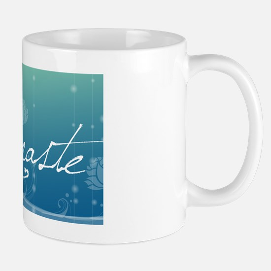 Namaste Oval Hitch Cover Mug