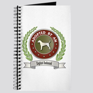 Foxhound Adopted Journal