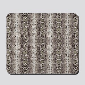 animal snakeskin Mousepad