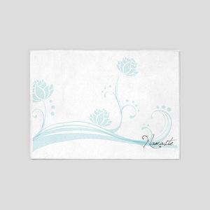 Namaste Magnetic Dry Erase Board 5'x7'Area Rug