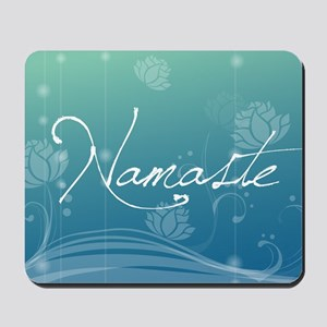 namaste gel  Mousepad