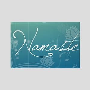 Namaste Gel Mousepad Rectangle Magnet