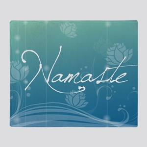 Namaste Gel Mousepad Throw Blanket