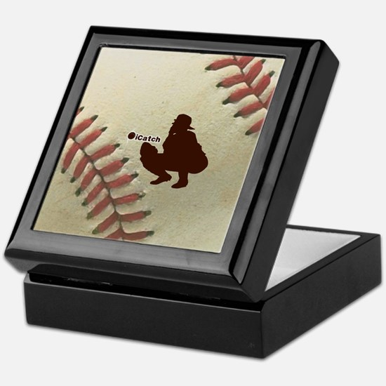 iCatch Baseball Keepsake Box