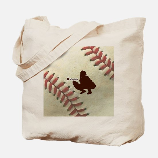 iCatch Baseball Tote Bag