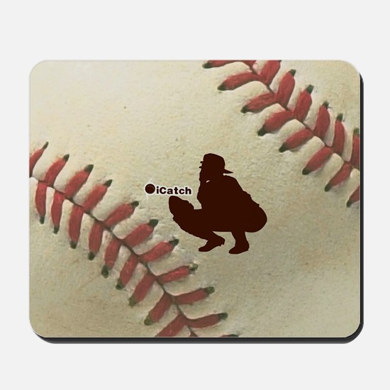 iCatch Baseball Mousepad
