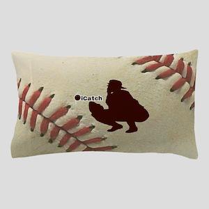 iCatch Baseball Pillow Case
