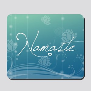 Namaste Beer Label Mousepad