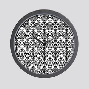 victorian damask Wall Clock