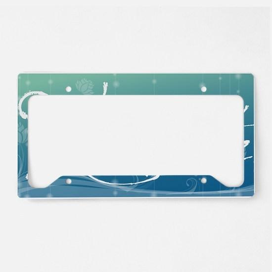 Namaste Aluminum License Plat License Plate Holder