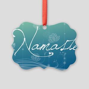 Namaste Laptop Skins Picture Ornament