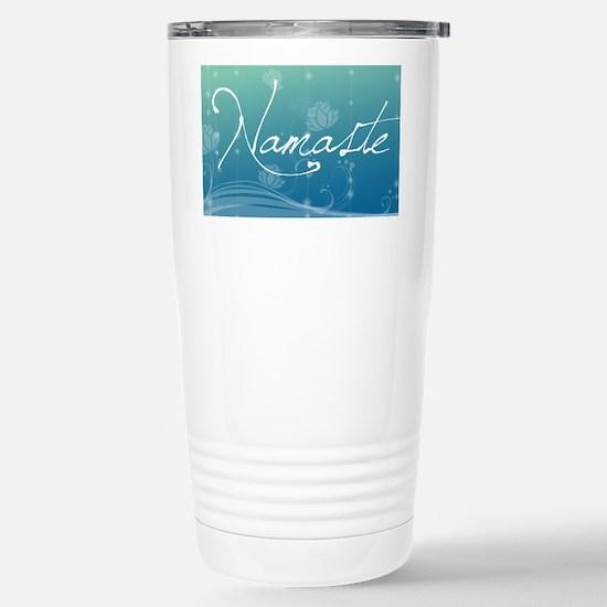 Namaste Laptop Skins Stainless Steel Travel Mug