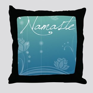 Namaste iPad 2 Hard Case Throw Pillow
