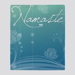 Namaste iPad 2 Hard Case Throw Blanket