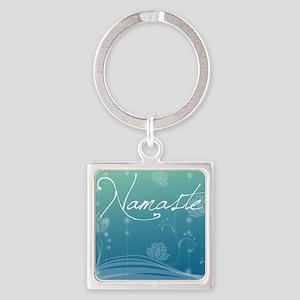 Namaste Puzzle Coasters (set of 4) Square Keychain