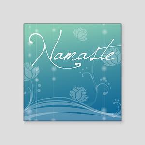 "Namaste Puzzle Coasters (se Square Sticker 3"" x 3"""