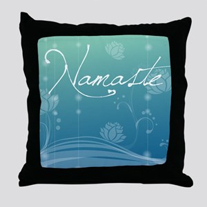 Namaste Puzzle Coasters (set of 4) Throw Pillow